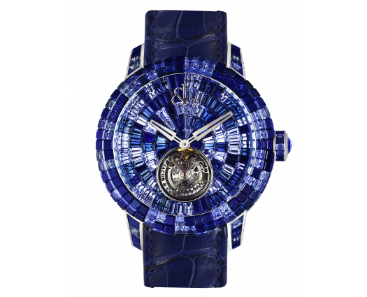 Caviar Tourbillon Camo Blue