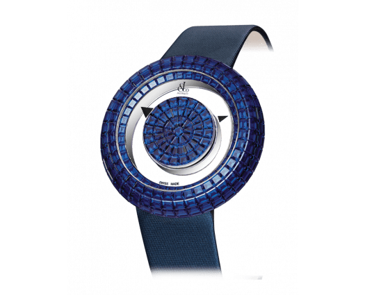 Brilliant Mystery Baguette All Blue Sapphires (38MM)