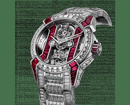Epic X Tourbillon Bracelet Rubies & Diamonds