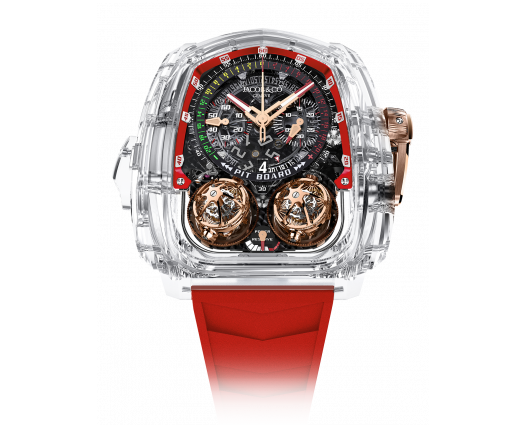 Twin Turbo Furious Sapphire Crystal Red Inner Ring