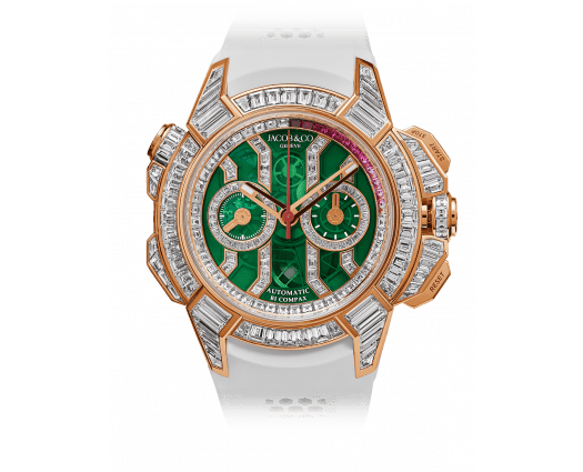 Epic X Chrono Baguette Green Mineral Crystal