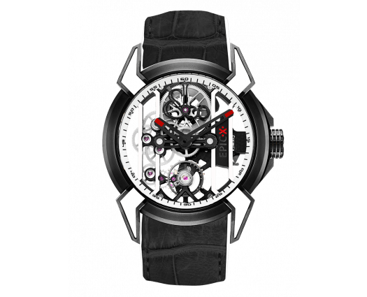 Epic X Racing Black Titanium (White Neoralithe Inserts & Inner Ring)
