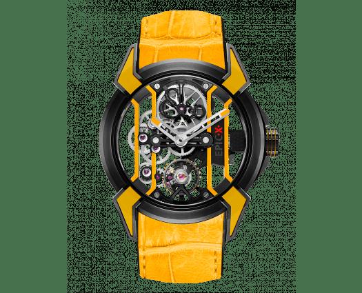 Epic X Racing Black Titanium (Yellow Neoralithe Inserts)