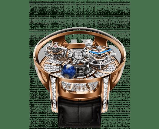 Astronomia Tourbillon Baguette Rose Gold