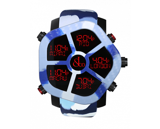 Ghost Carbon Camouflage (Blue)
