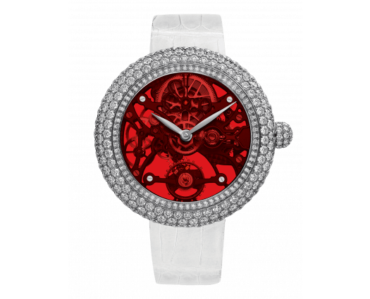 Brilliant Skeleton Northern Lights Stainless Steel Red