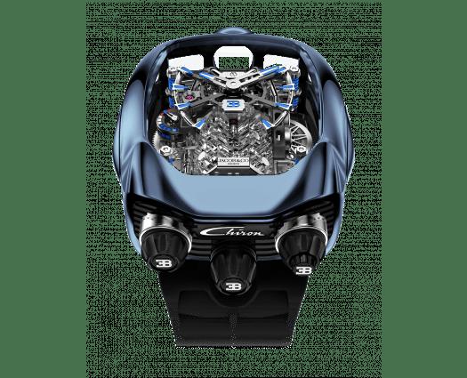Bugatti Chiron Blue Titanium