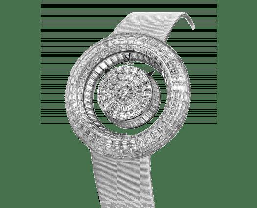 Brilliant Mystery Baguette White Diamonds (44MM)