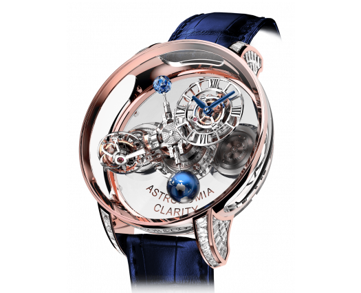 Astronomia Clarity Rose Gold Baguette