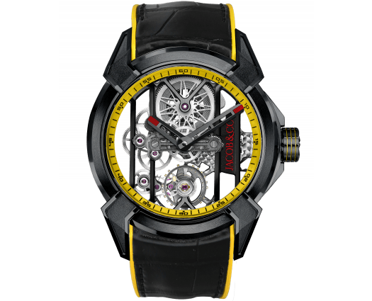 Epic X Racing Black Titanium (Yellow Neoralithe Inserts & Inner Ring)