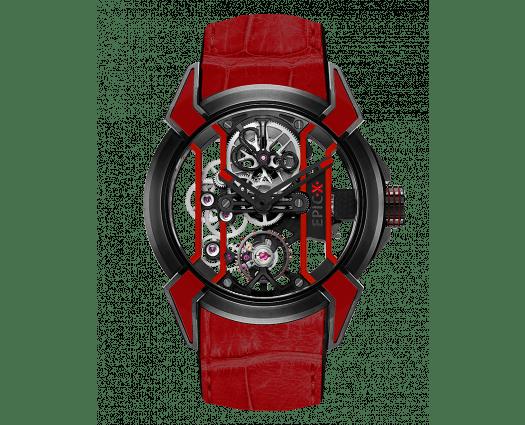 Epic X Racing Black Titanium (Red Neoralithe Inserts)