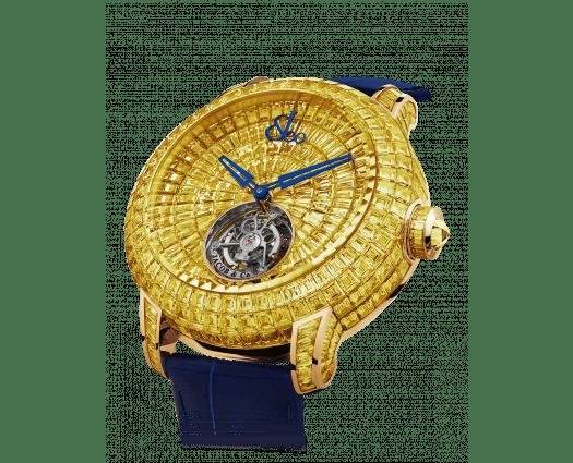 Caviar Tourbillon Baguette Yellow Diamonds 44mm