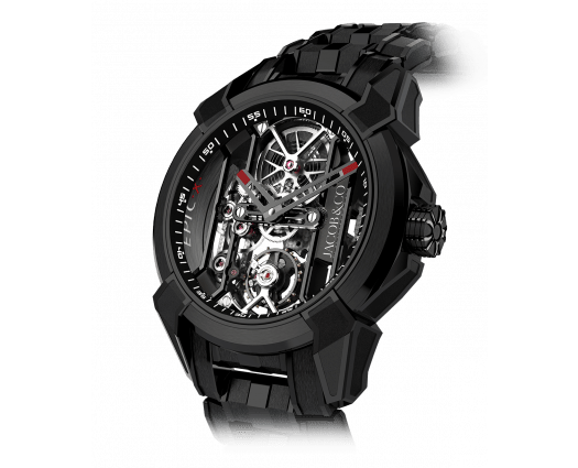 Epic X Black Titanium Bracelet (Black Neoralithe Inner Ring)