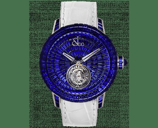 Caviar Tourbillon Baguette Blue Sapphires