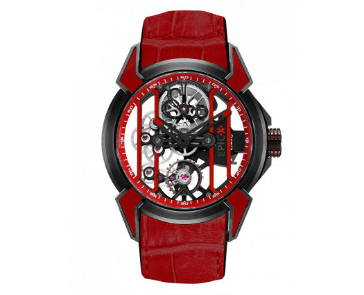 Epic X Racing Black Titanium (Red Neoralithe Inserts & Inner Ring)