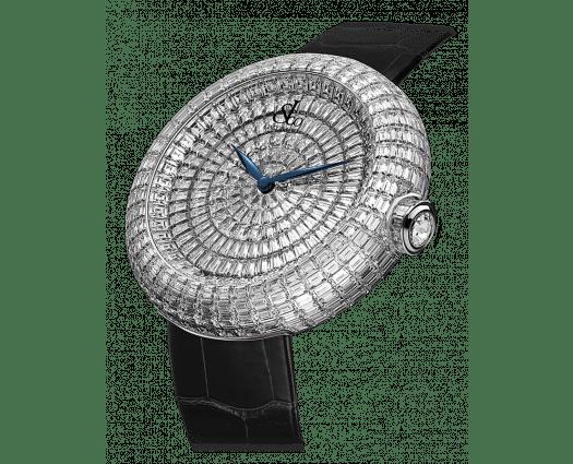 Brilliant Full Baguette Diamonds 38mm