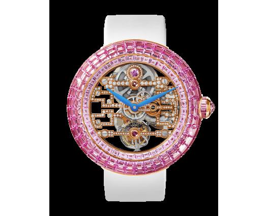 Brilliant Art Deco Pink Sapphire