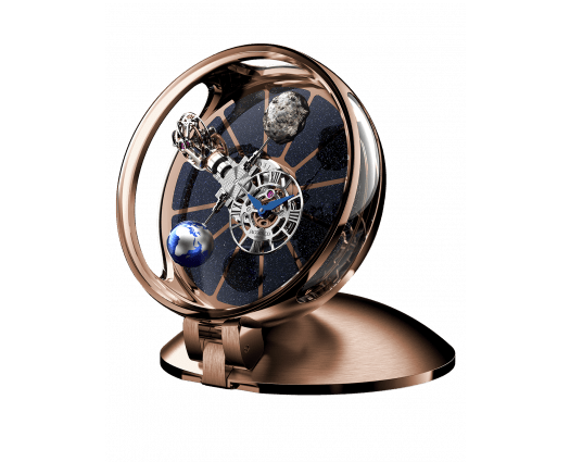 Astronomia Table Clock Rose Gold
