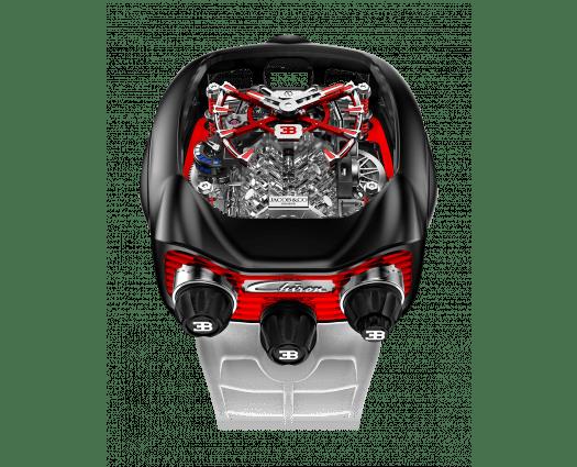 Bugatti Chiron Red and Black