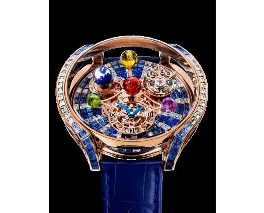 Astronomia Solar Baguette Diamonds And Blue Sapphires