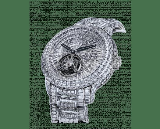 Caviar Tourbillon Diamond Bracelet 44mm