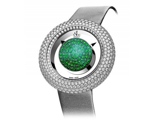 Brilliant Mystery Pave Diamonds And Tsavorites (38mm)
