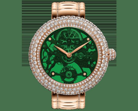 Brilliant Skeleton Northern Lights Green Bracelet