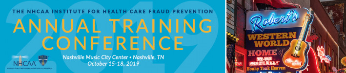 GlassRatner is a Proud Sponsor of NHCAA Health Care Fraud Prevention Annual Training Conference