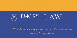 GlassRatner is a Proud Sponsor of Emory Bankruptcy Developments Journal Symposium