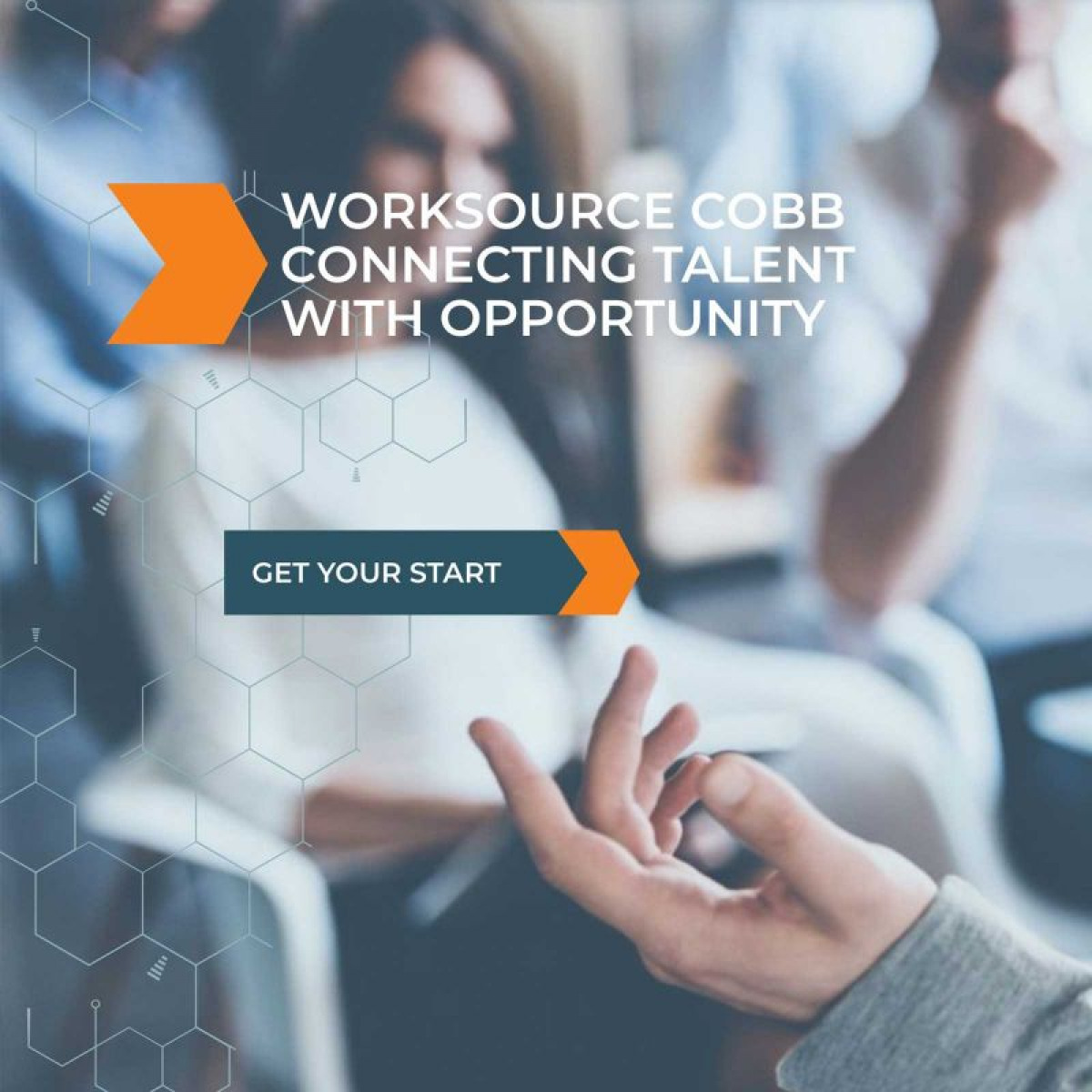 Image of website for WorkSource Cobb
