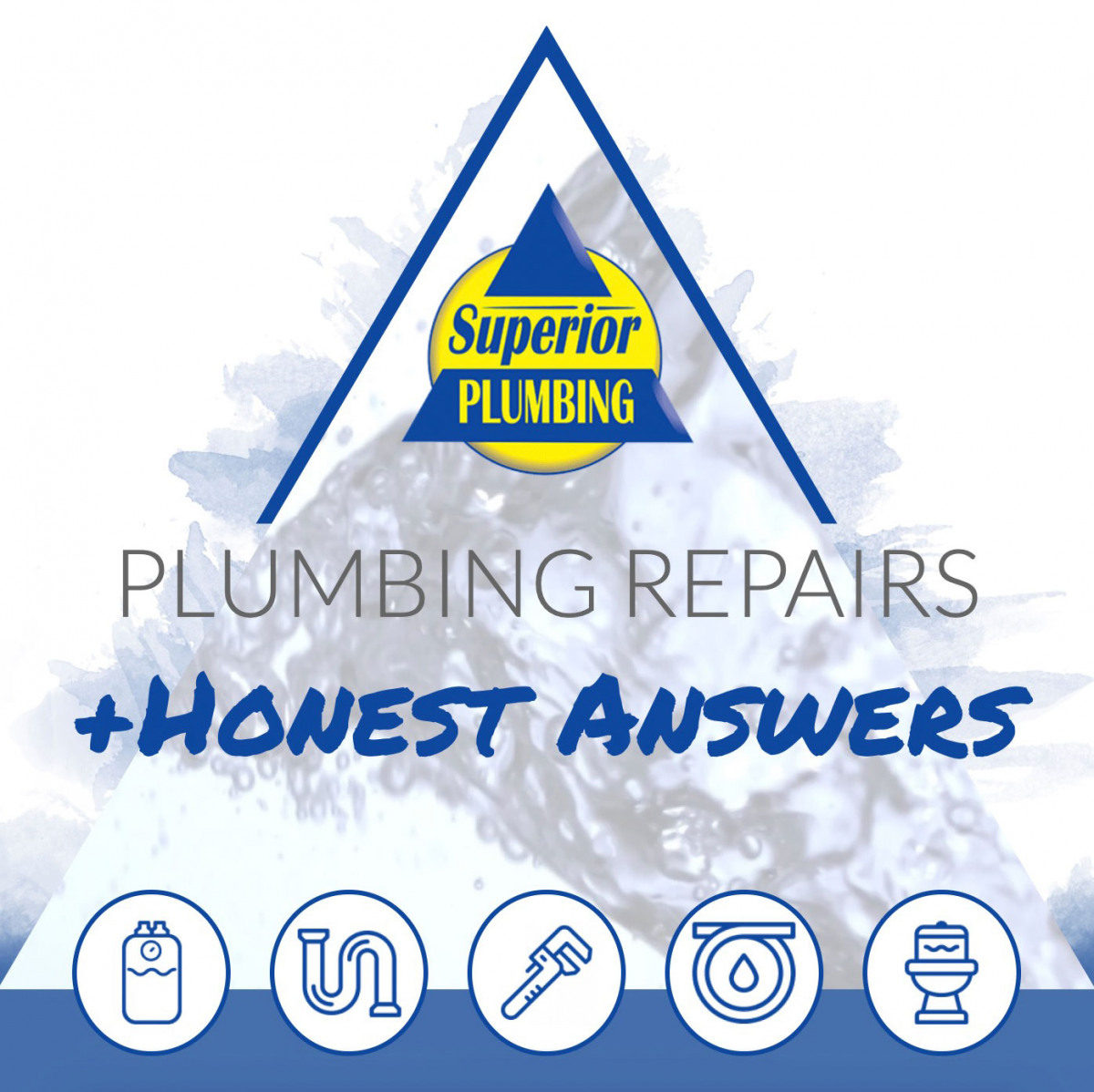 Image of website for Superior Plumbing