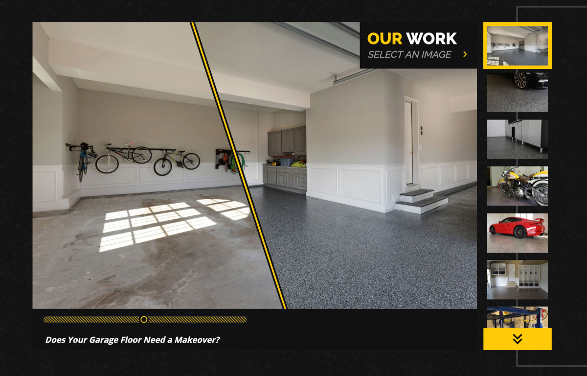 Image of website for Granite Garage Floors