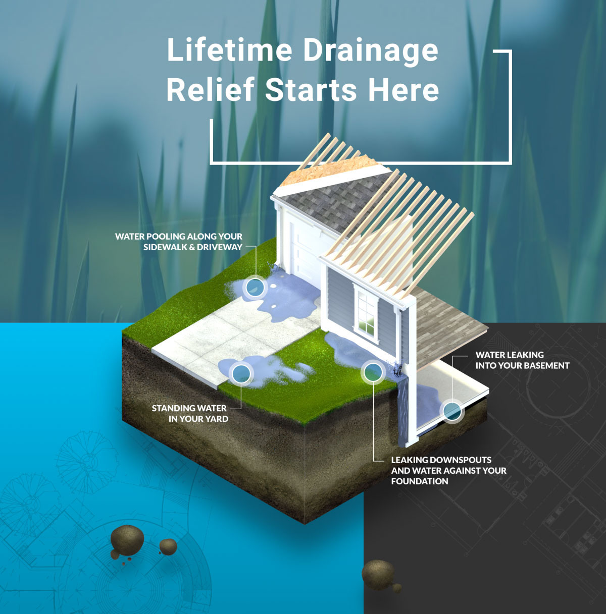 Image of website for Advanced Drainage Solutions