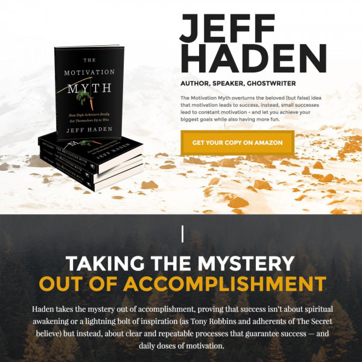 Image of website for Jeff Haden