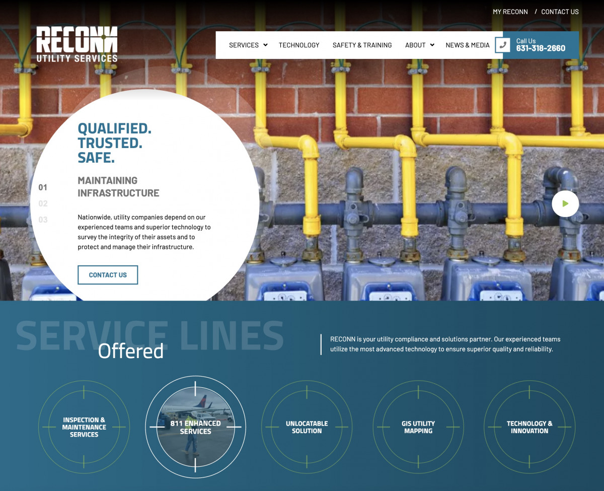 Image of website for Reconn