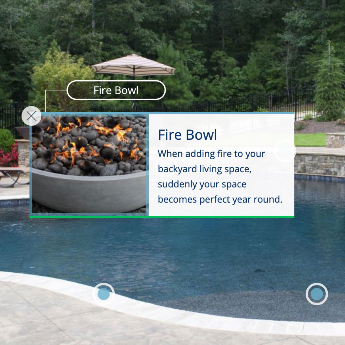 Image of website for Browns Pools