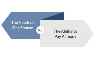 Alimony Illustration