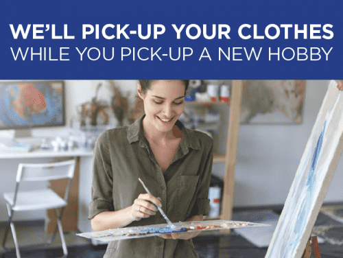 Sign-Up for FREE Home Pick-up and Delivery Today!