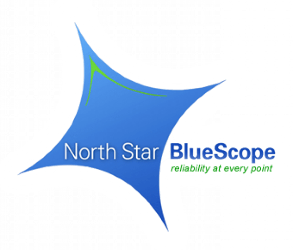 North Star Blue Scope Manufacturing  logo