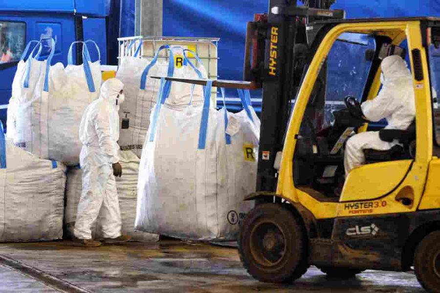 Disposal of Asbestos Material