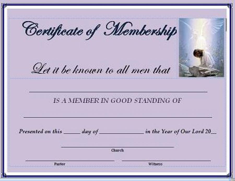 Member Certification