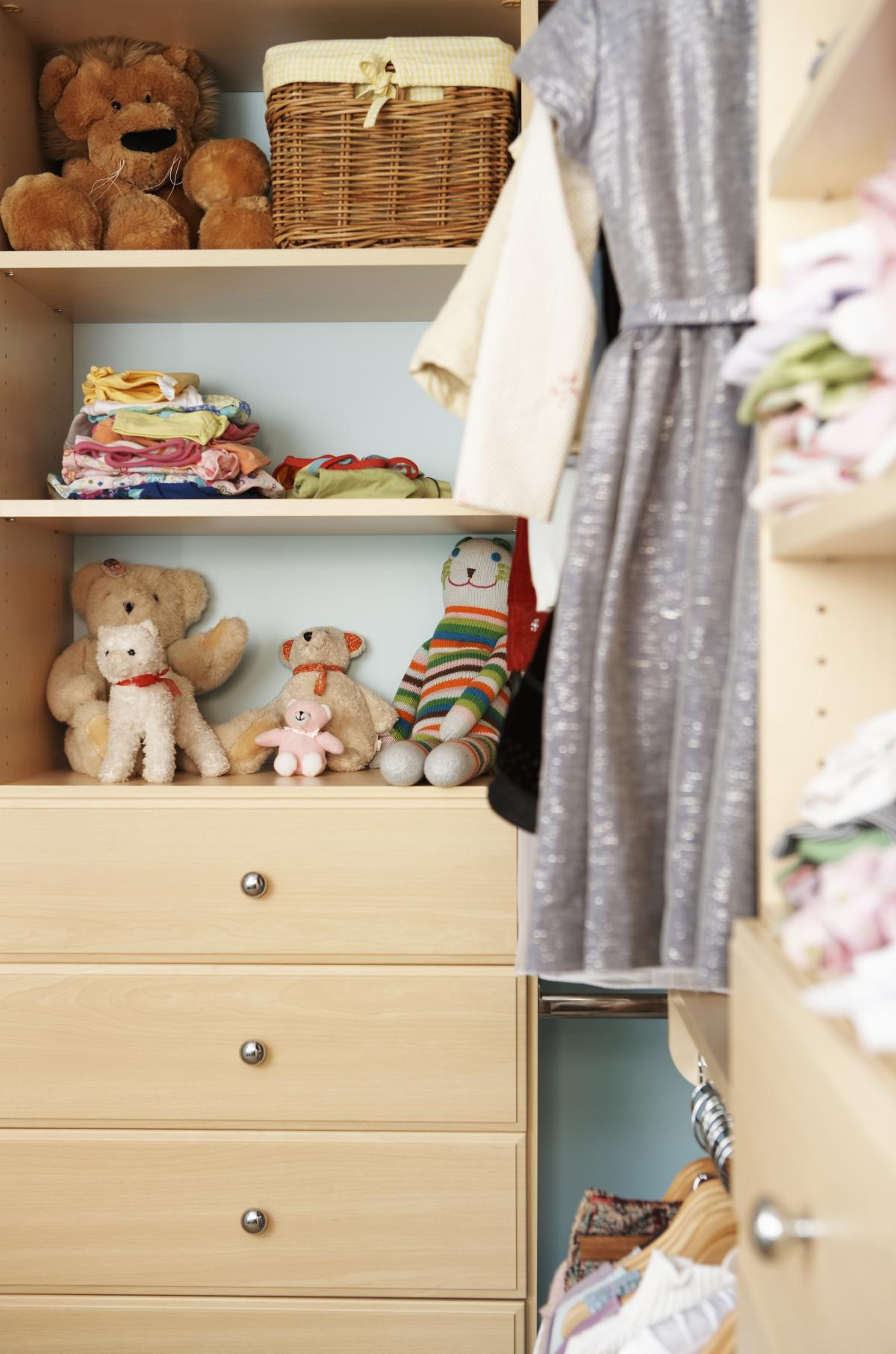 Children's Closet - White Finish