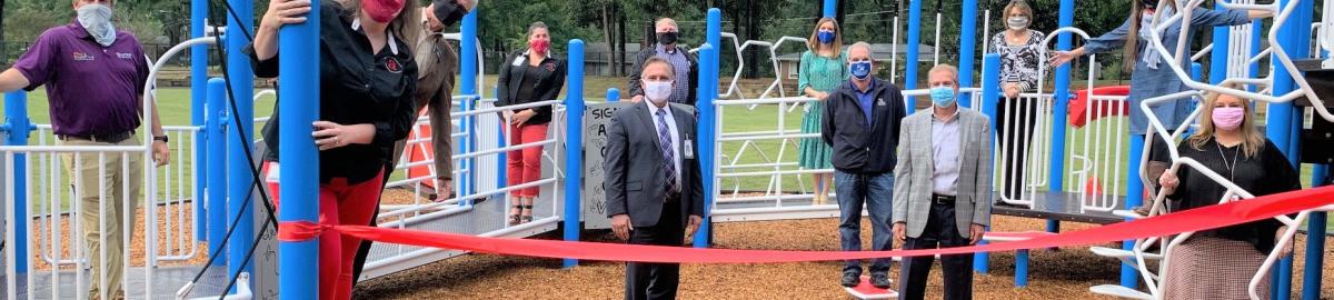 New All Abilities Playground At Alpharetta Elementary School