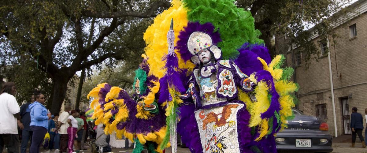 Mardi Gras Indian Costumes Unmasked