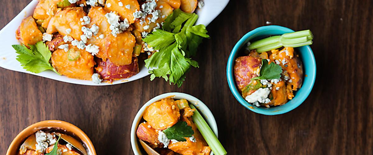 Buffalo-Style Potato Salad