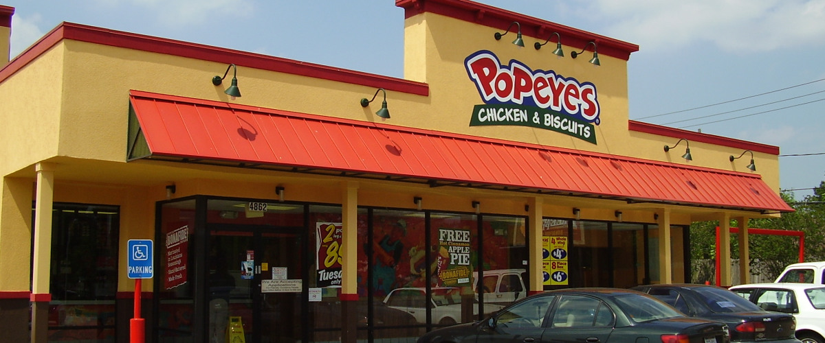 Burger King Franchise To Buy Out Popeye S Chicken For 1 8