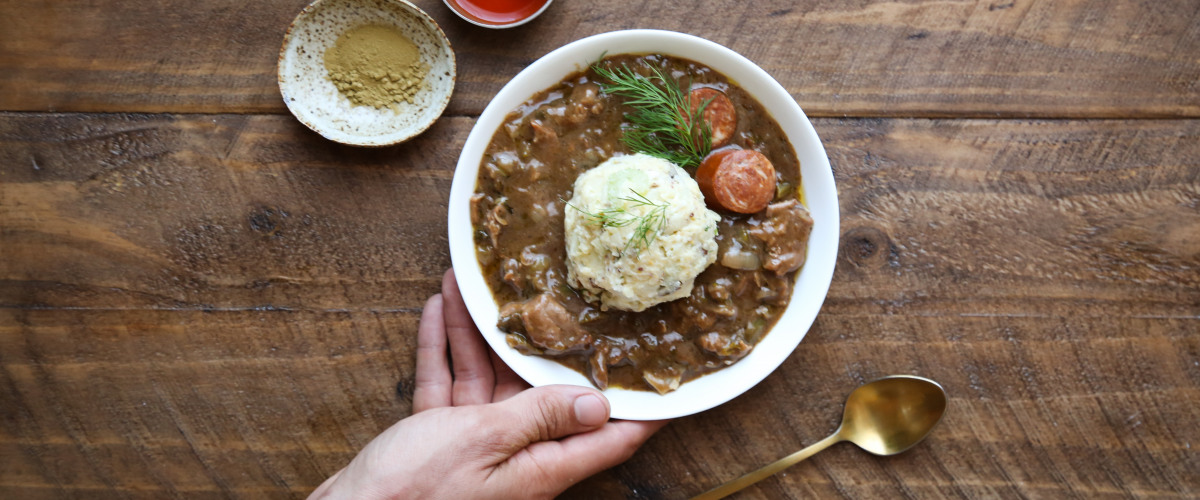 Recipe: Turkey Andouille Gumbo