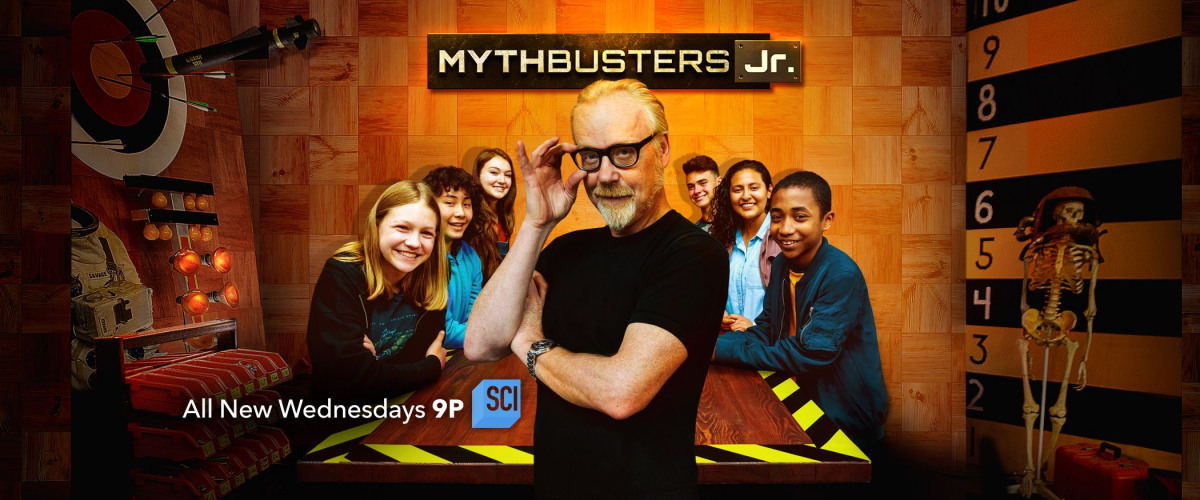 Two Local Teens Shine in New <em>Mythbusters, Jr.</em> Series