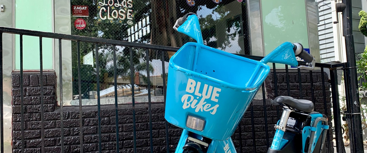 Blue Cross Will Bring Back Blue Bikes to New Orleans