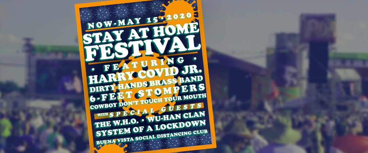 Stay-at-Home Fest Promises to Go Viral: Catch it Soon!